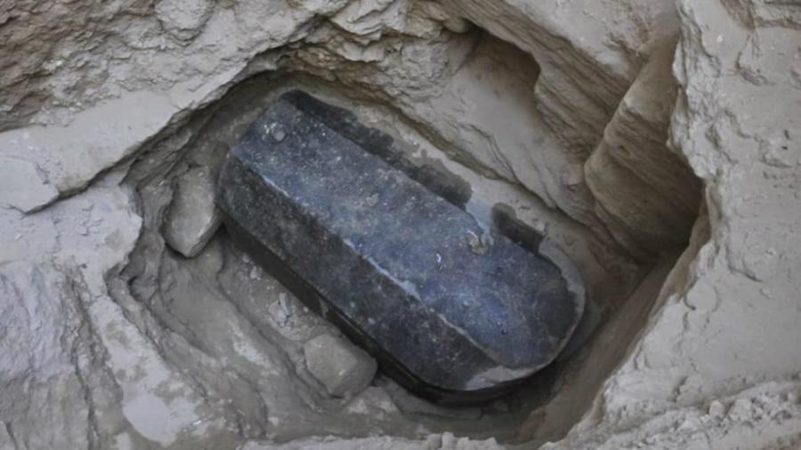 Sarcófago encontrado en Egipto, podría ser la tumba perdida de Alejandro Magno