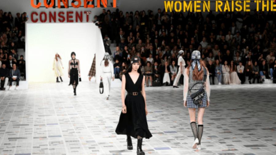 Movimiento #MeToo inspira la nueva colección de Dior