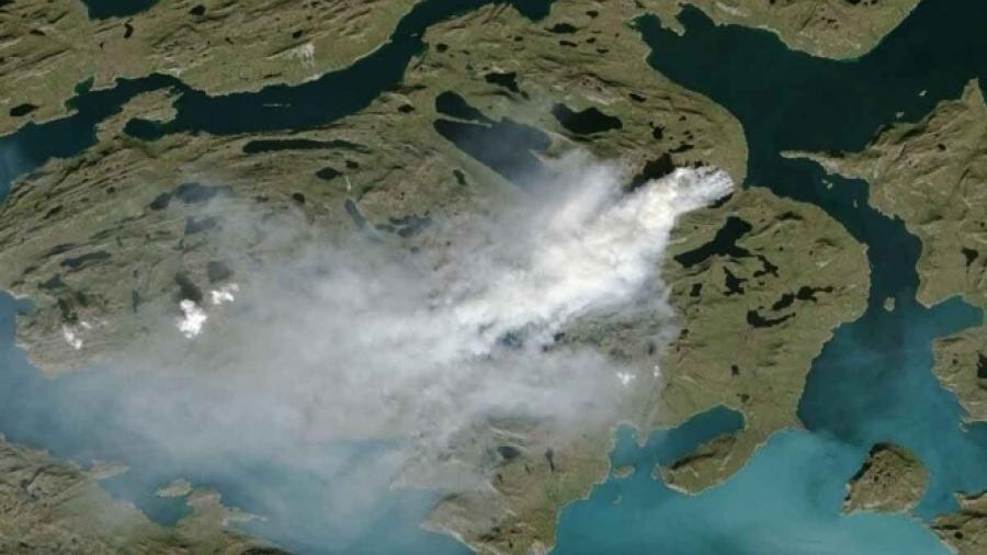 CAMS vigila círculo polar ártico por incendios activos
