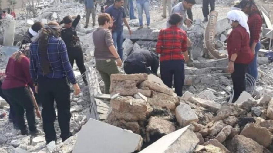 Ocho muertos y 25 heridos tras bombardeos turcos en Siria
