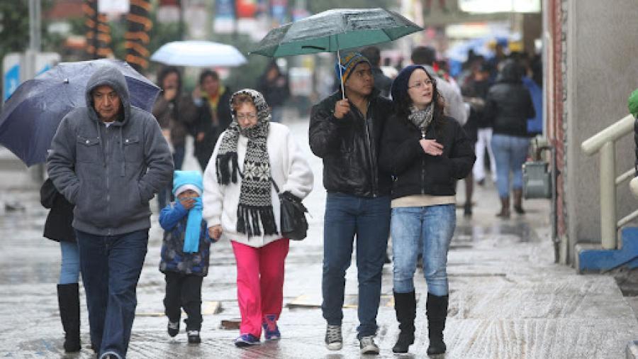 Ingresa primer frente frío de la temporada; Se pronostican lluvias en Tamaulipas