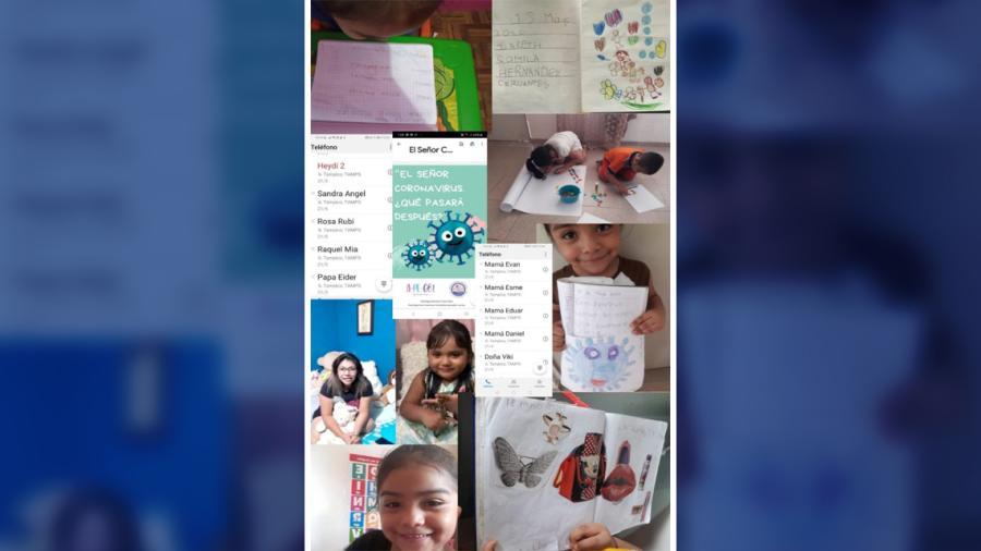 """CAIC Altamira continúa con programa """"Aprendiendo en Casa"""""""