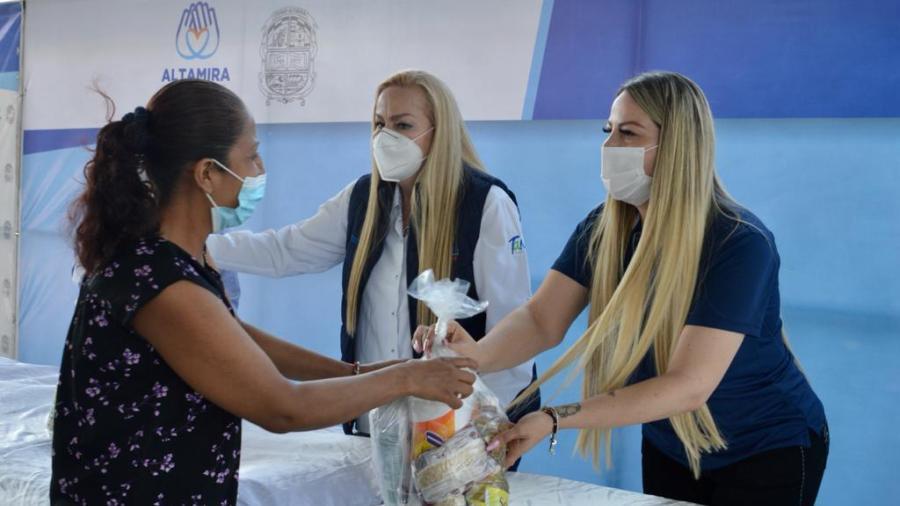 DIF Altamira trabaja por el bienestar de las familias