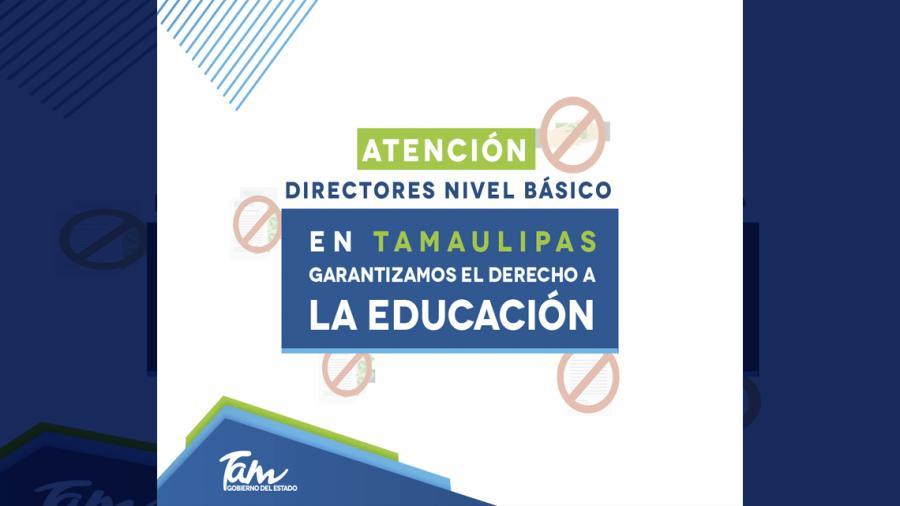 En Tamaulipas no se puede condicionar la educación de niños, niñas y adolescentes