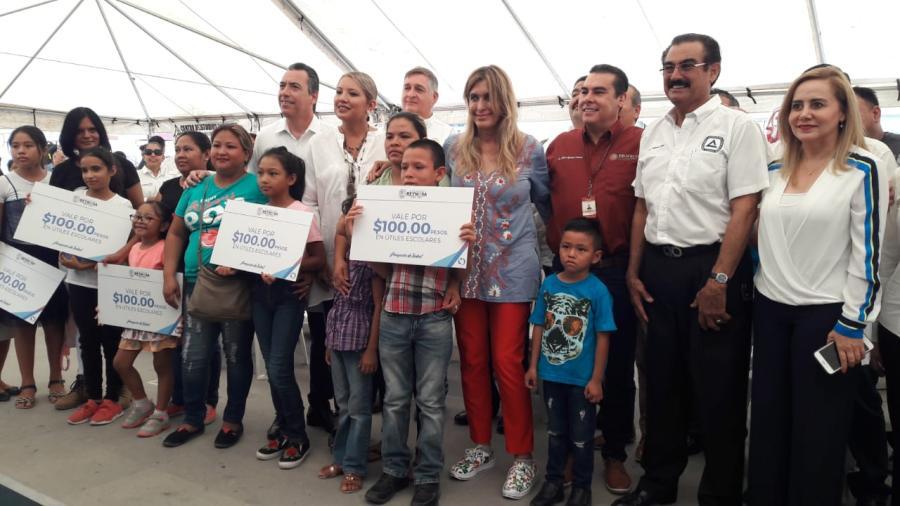 Arranca Feria del Regreso a Clases en Reynosa
