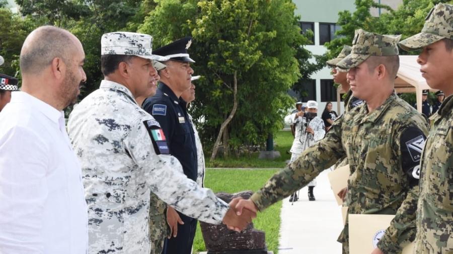 Capacitan a Guardia Nacional en marco legal policial y prevención