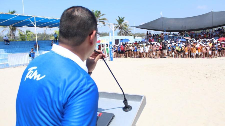 Tamaulipas rompe récord de participaron en el Festival Nacional de voleibol de playa