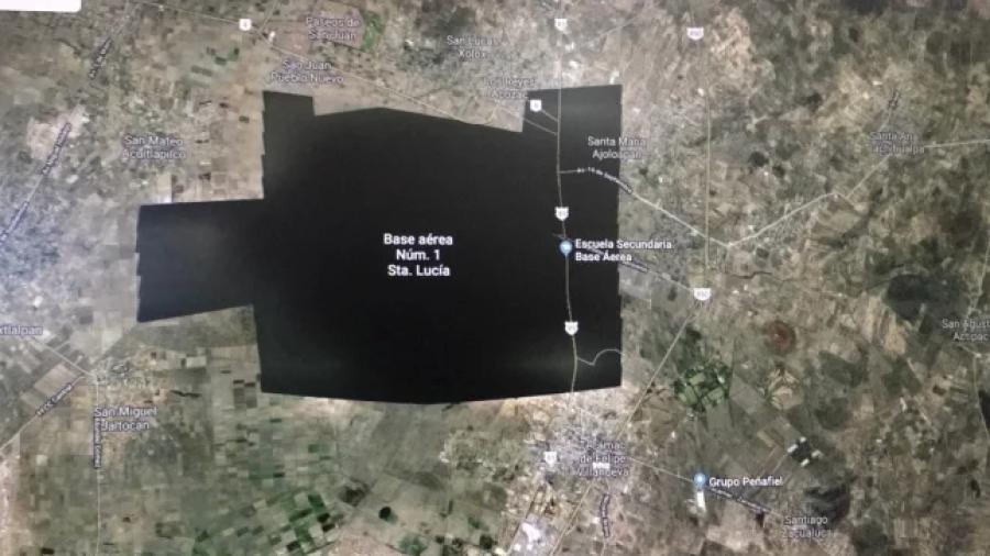 Google aclara porque Santa Lucía no se ve en sus mapas