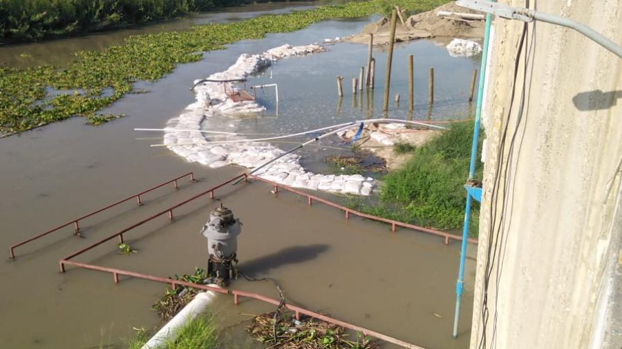 Sueltan agua de presa Anzaldúas y crece el nivel del río Bravo por unas Horas: JAD