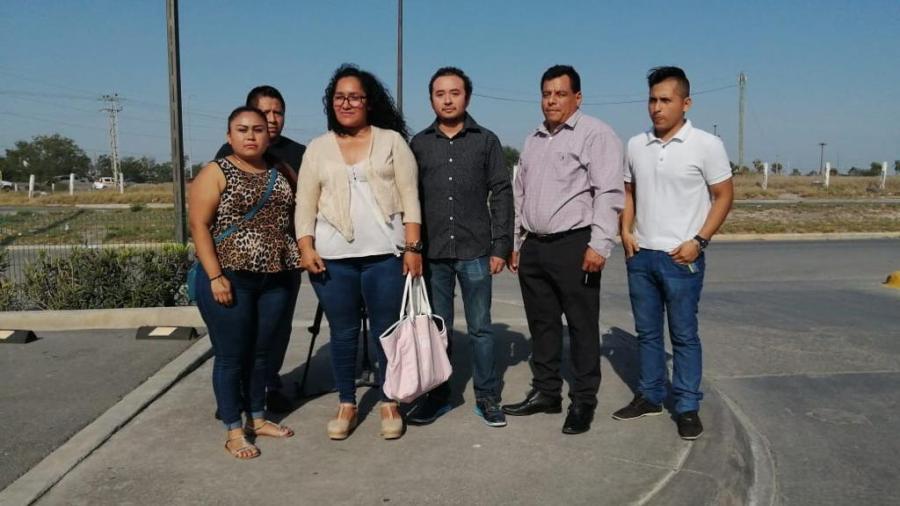 """Trabajadores 'outsourcing' protestan por """"despidos injustificados""""."""