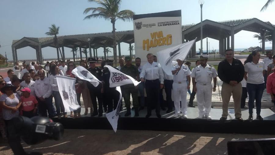 Inicia operativo de atención al turismo en Madero