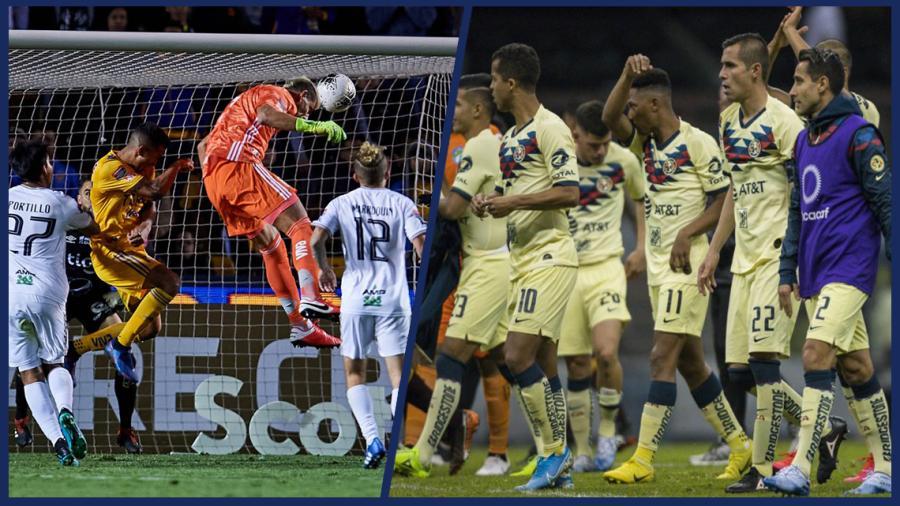 América y Tigres continúan en la Concachampions