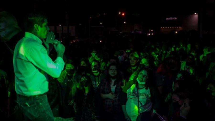 Candidato del PVEM  a la presidencia de Reynosa promete un concierto de Metallica de ganar las elecciones