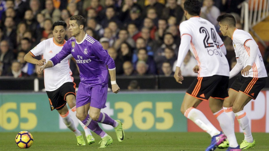 Real Madrid cae ante Valencia 2-0