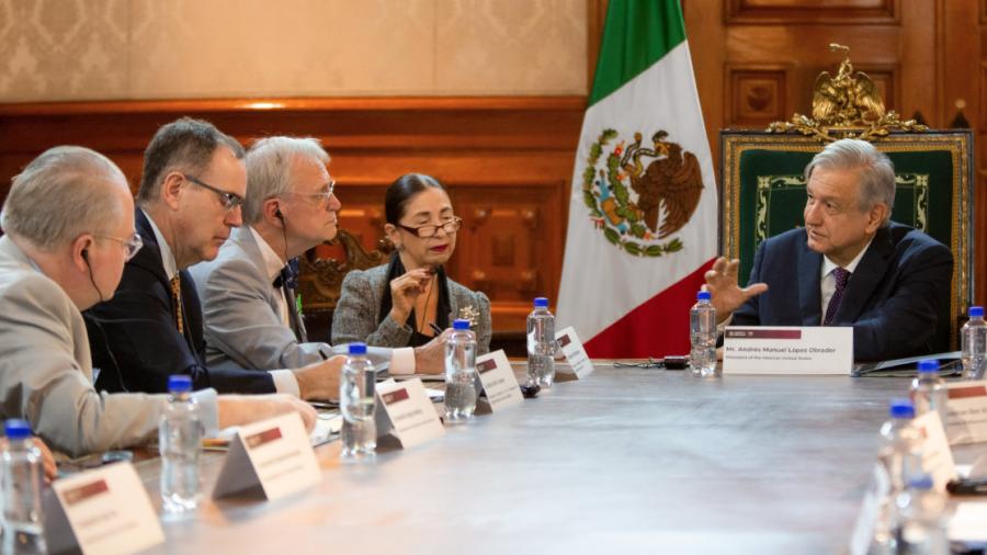 AMLO se reune con Congresistas de EU para hablar del T-MEC