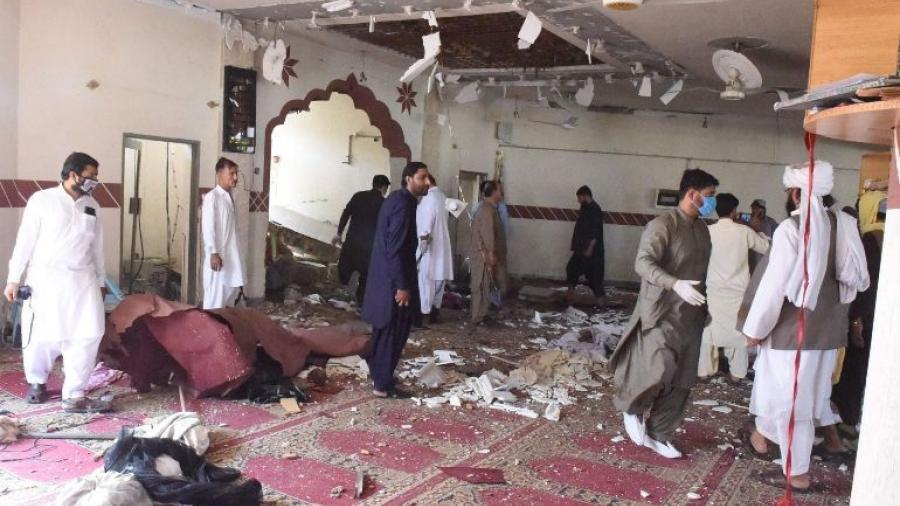 5 muertos y 15 heridos tras explosión en mezquita de Pakistán