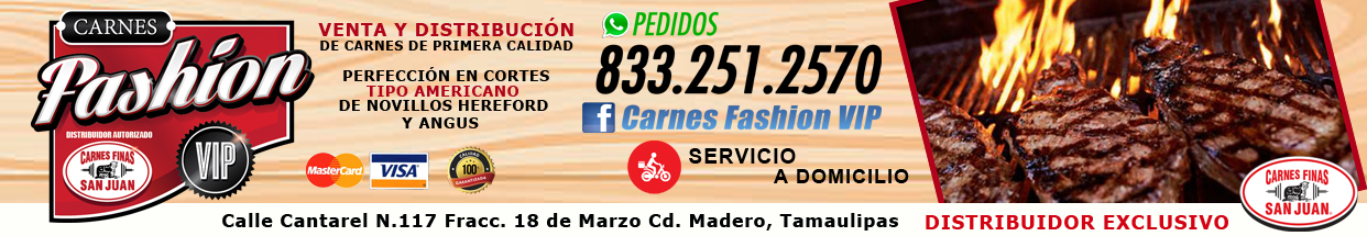 Banner Carnes Fashion
