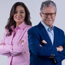 Sergio Sarmiento y Guadalupe Juárez