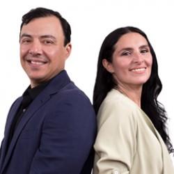 Jorge Barba y Thamara Puente