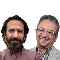 Fernando Rivera Calderón y Jairo Calixto Albarrán